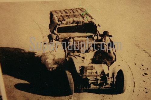 Charles Manson dune buggy