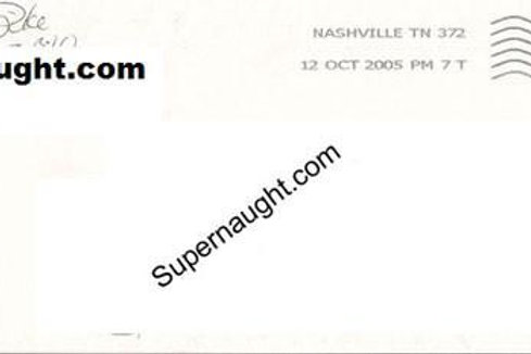 Christa Pike Signed Prison Stamped Envelope