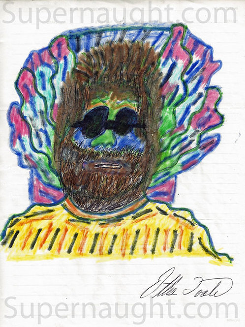 Ottis Toole drawing