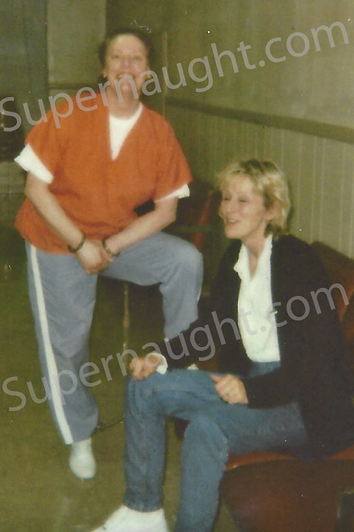 Aileen Wuornos eve of execution photo