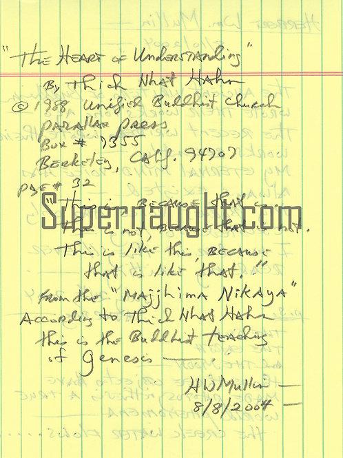 Herbert Mullin writings