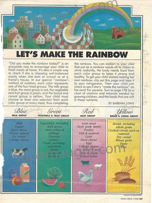 Charles Manson Lets Make A Rainbow