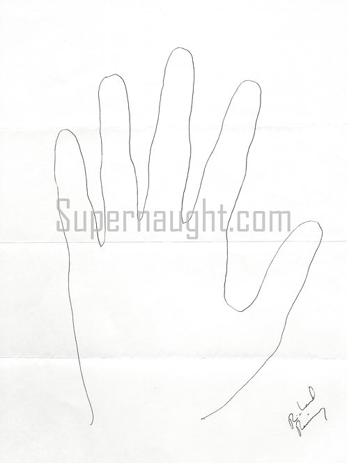 richard ramirez night stalker hand tracing