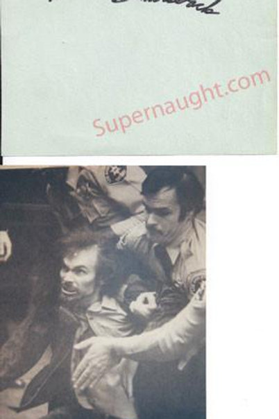 Steve Railsback Autograph