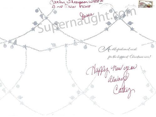 Catherine Thompson Signed Card
