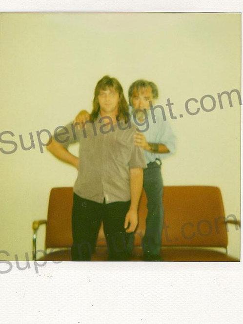 Charles Manson Michael Channels Polaroid