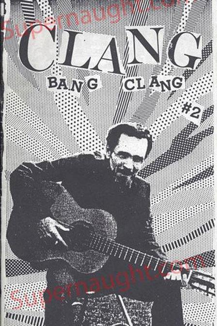 Charles Manson Clang Bang Clang Fanzine No. 2