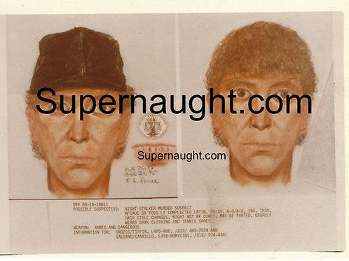 Night Stalker suspect sketch