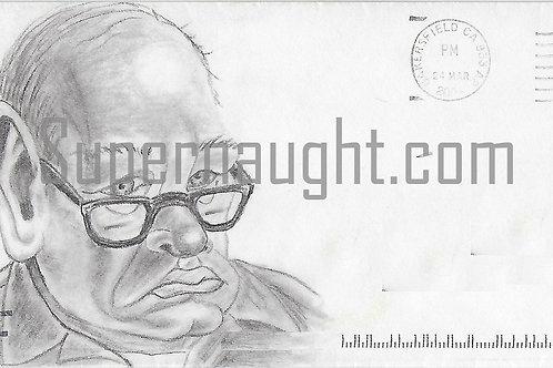 Roy Norris self portrait art