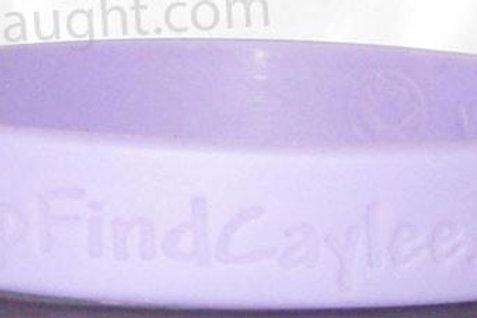 Caylee Anthony purple bracelet