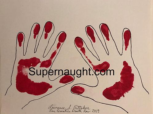 Lawrence Bittaker hand prints