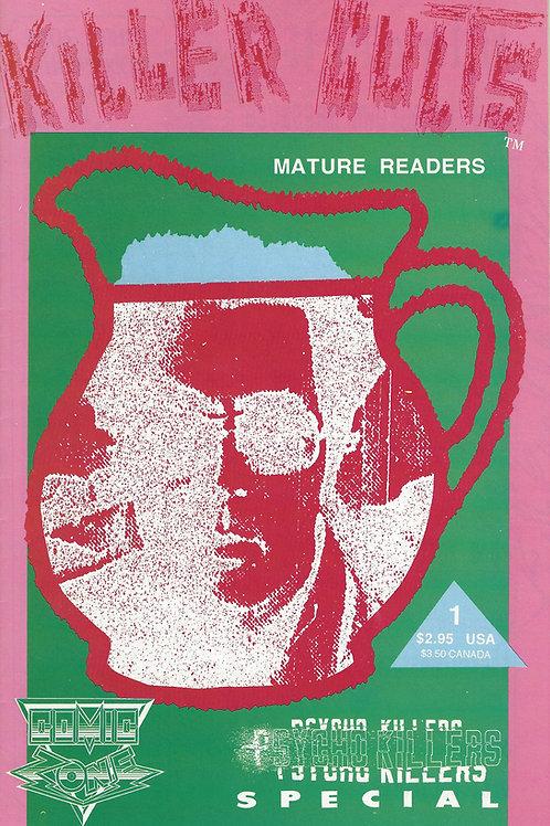 Psycho Killers Killer Cults Jonestown Comic Book 1992