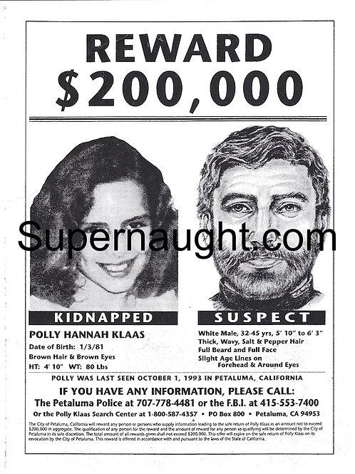 Polly Klaas Missing
