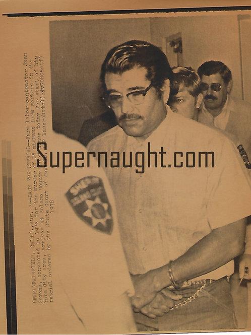 Juan Corona August 1978 Press Photo