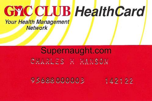 Charles Manson card