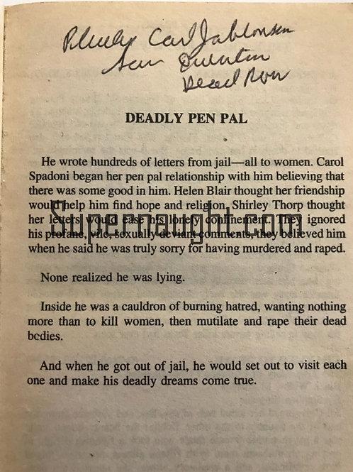 Deadly Urges autographed
