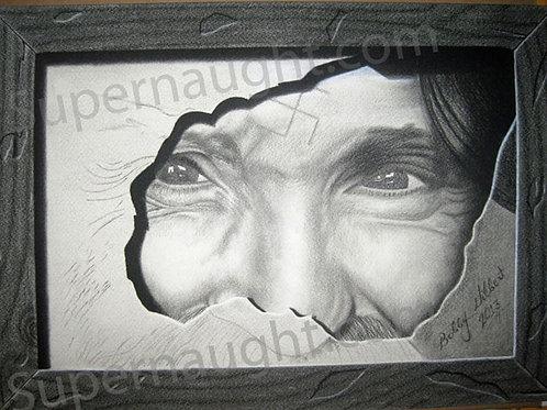 Bobby Gilbert Charles Manson artwork