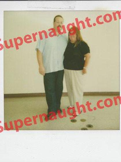 Anthony Wolfe Prison Polaroid
