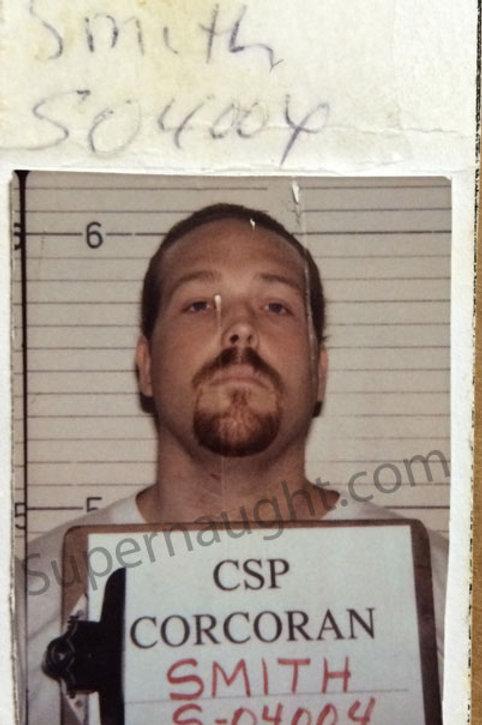 Anthony Wolfe Signed Booking Photo