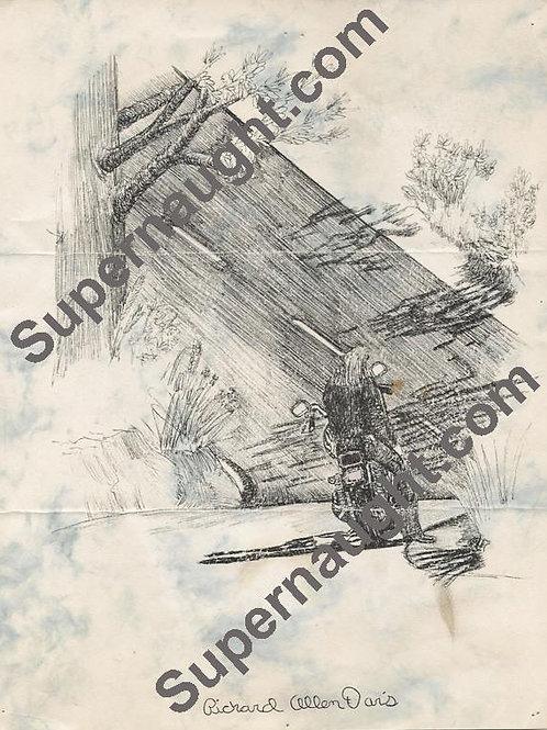 Richard Allen Davis drawing
