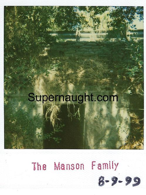 Charles Manson Spahn Ranch Polaroid