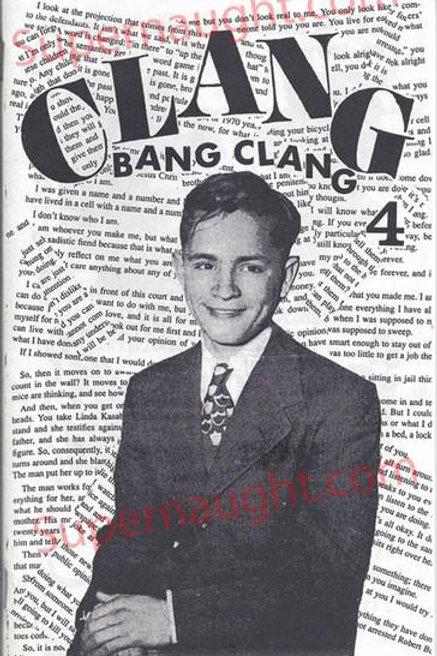 Charles Manson Clang Bang Clang 1997 Fanzine