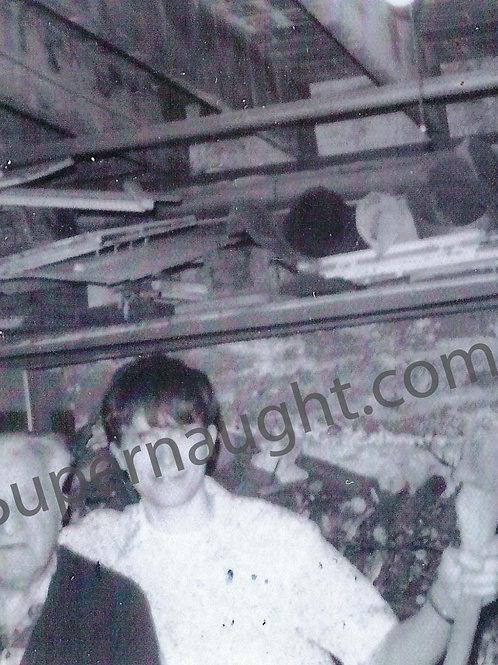 Hadden Clark Teenage Photo with Grandfather