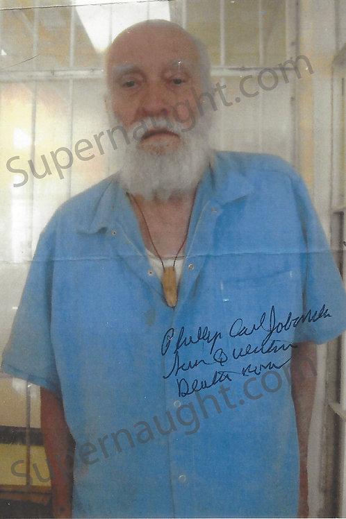 Phillip Jablonski autographed photo