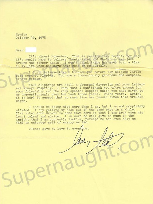ted bundy letters