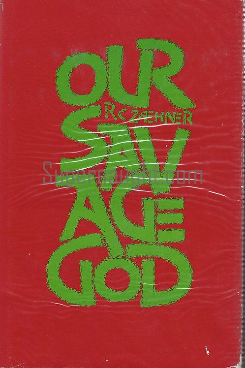 Our Savage God RC Zaehner Hardcover UK 1974 Manson Family