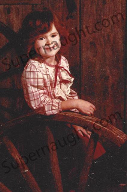 christa pike childhood photograph