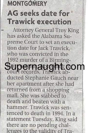 Jack Trawick execution