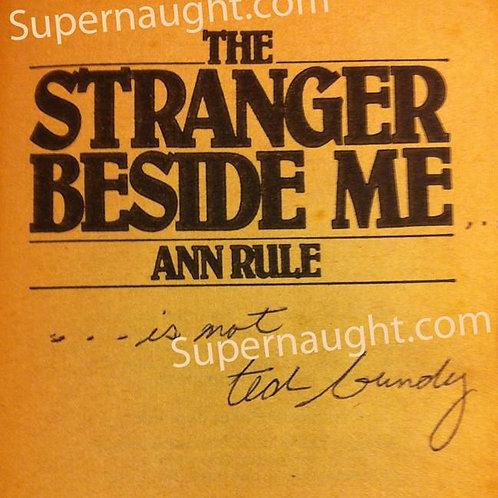 ted bundy signed book