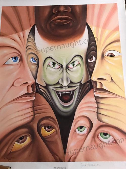 Jack Kevorkian artwork