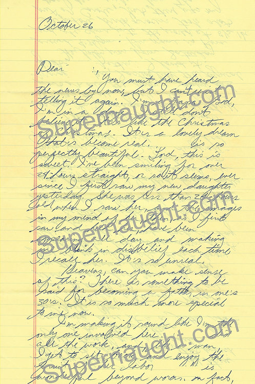 Ted Bundy Four Page Letter and Envelope Set Both Signed