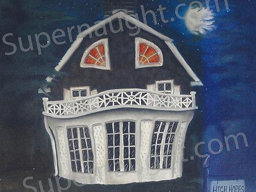 Amityville Horror painting