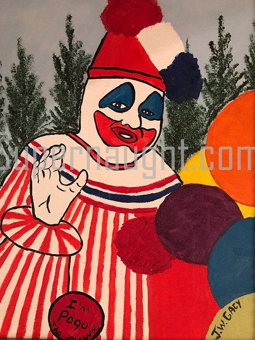 John Gacy pogo the clown
