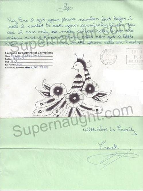 frank rodriguez letter