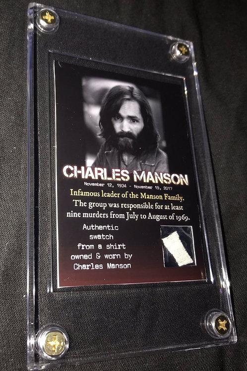 Charles Manson shirt