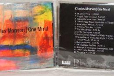 Charles Manson One Mind CD 2005 1st Pressing