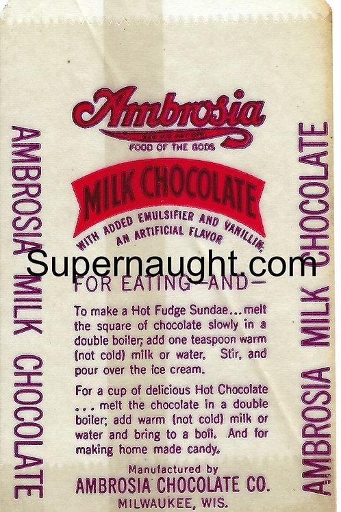 Jeffrey Dahmer chocolate