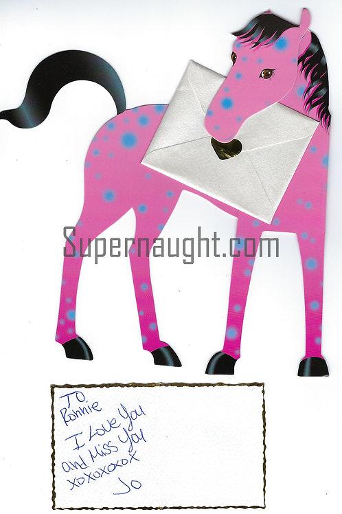 Ronald DeFeo Author Jackie Agnelli Signed Card And Envelope Set