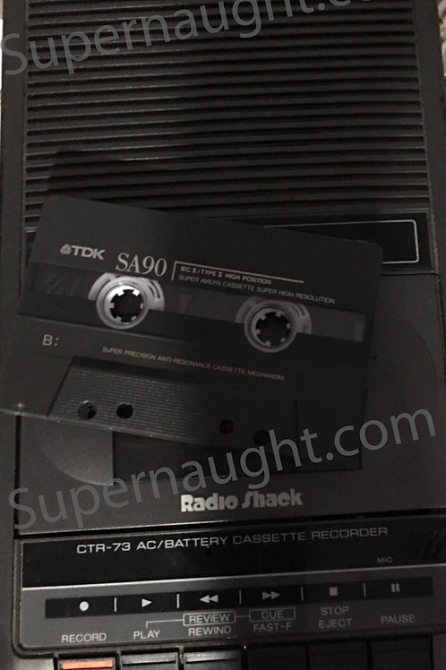 David Parker Ray Tape Recorder
