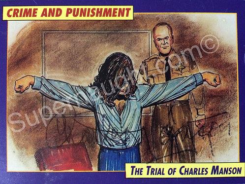Charles manson crime and punishment