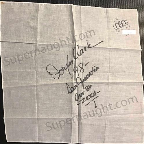 Douglas clark autograph