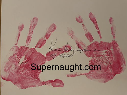 Keith Hunter Jesperson hand prints