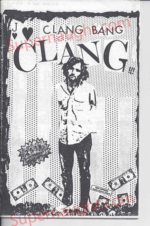 Charles Manson Clang Bang Clang Fanzine