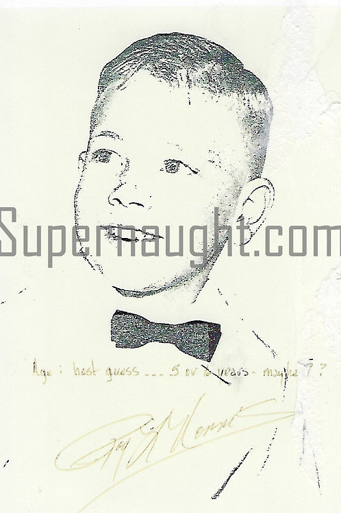 Roy Norris Signed School Photo