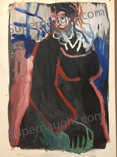 Robert Andrew Berdella painting