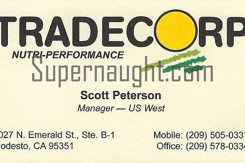 scott peterson tradecorp business card